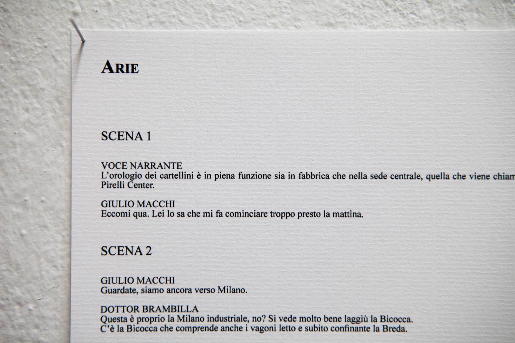 Paolo Inverni, 'Dodici storie a bassa densità da Milano città' (detail) [photo Yusuke Nishimura]